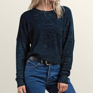 PacSun Volcom Crop Chenille The Favorite Sweater